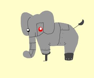 cyborg elephant
