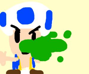 blue toad phews