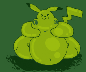 insecure pikachu drawing