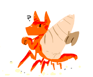 cute crab dragon!