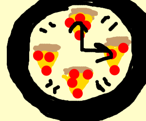 It's pizza time