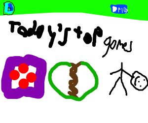 The drawception home menu