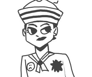 emo anime sailor boy