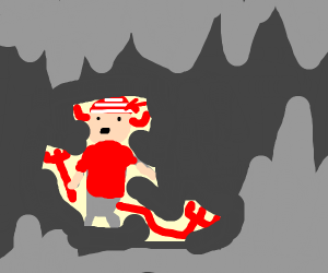 demon pirate in hell