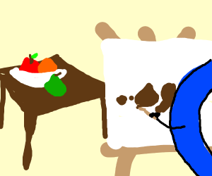 Drawception accidentally draws poop