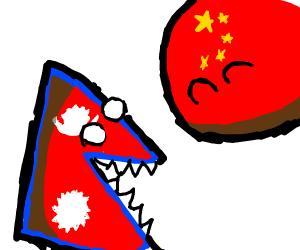 Nepal+China