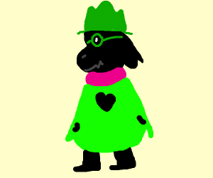scarf character from deltarune