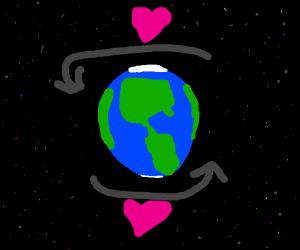 l-l-love makes the world go round