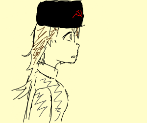 russian anime girl