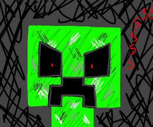 Angry creeper