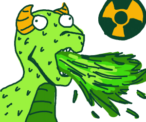 Radioactive dragon
