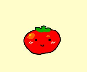 a cute tomato