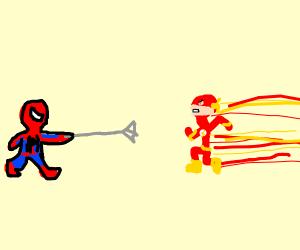 Spiderman vs the flash