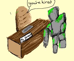 Bread hiring Gollum