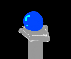The blue orb of Fortune