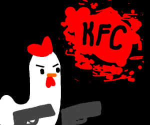 Meanwhile at kfc headquarters