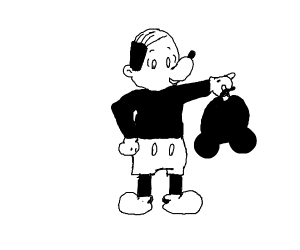 Human Mickey Mouse