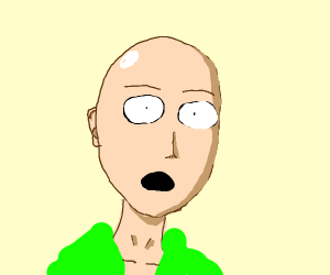 Concerned One Punch Man
