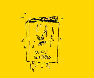 book is very angry about getting wet