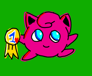 Jigglypuff won the popularity contest