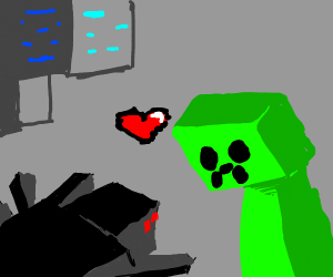 Spider x creeper