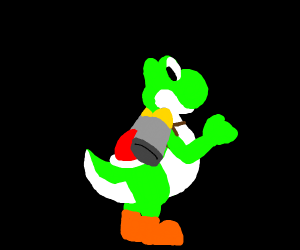 YOSHI WITH A JETPACK