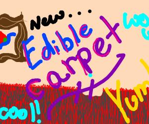 Edible Carpet