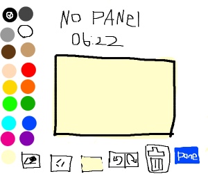No panel
