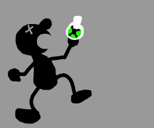 Mr Game and Watch dies by poison