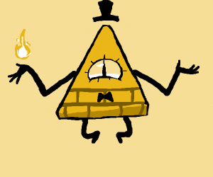 That illuminati guy from gravity falls