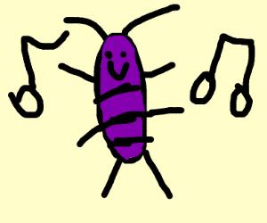 dancing cockroach