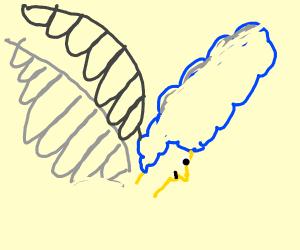 Marge Flying