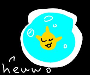 uwu goldfishie says hewwo!