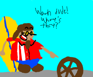 Hawaiian Discovers the Wheel