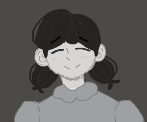 portait of female face, cousin ofLucy vanPelt