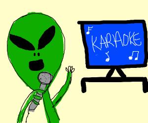 alien karoake