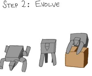 Step 1: walk