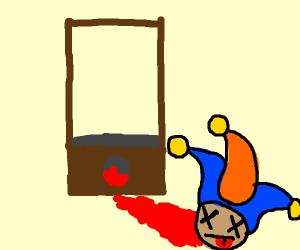 beheaded jester