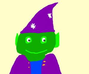 Green elf wizard