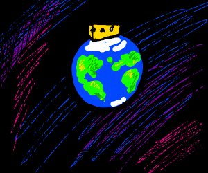 Cheese on top of the Earth