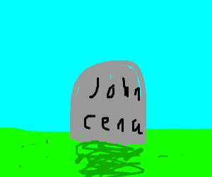 aw man John died