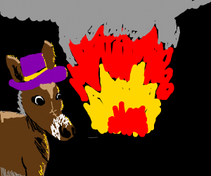 pimpin donkeys dont look at explosions