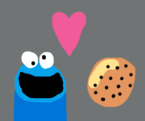 Cookie Monsters loves cookies!