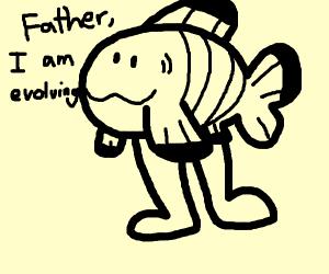 Nemo with legs