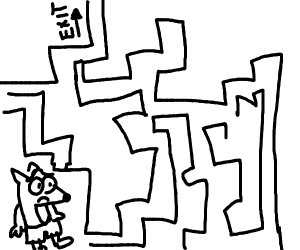 crash bandicoot stuck in maze