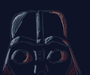 Darth Vader's forehead