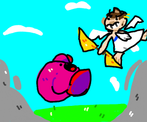 kirby and pit have a SUPER EPIC smash battle