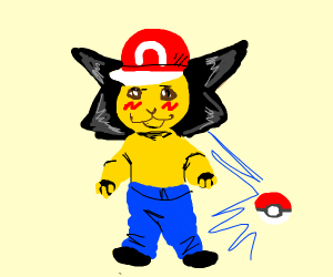 ash and pikachu had a child