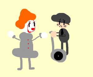 it the clown / happy wheels