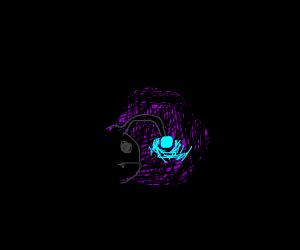 Anglerfish in the dark